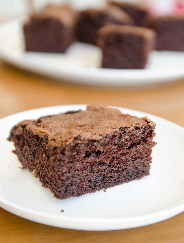 bolo de chocolate e iogurte
