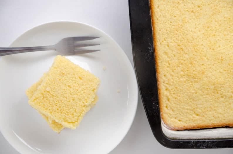 receita de bolo de liquidificador- bolo queijadinha