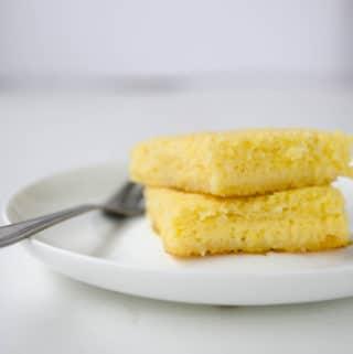 receita fácil de bolo queijadinha