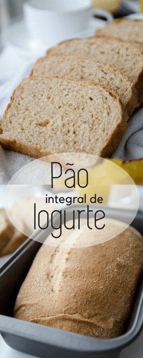 Receita de pão integral de iogurte super macio!