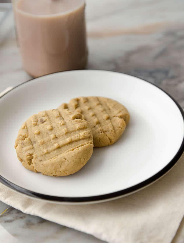 cookies de manteiga de amendoim