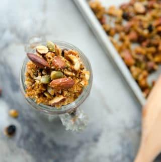 receita de granola com mel caseira