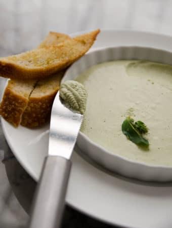 receita fácil de patê de queijo cottage e ricota feito do zero