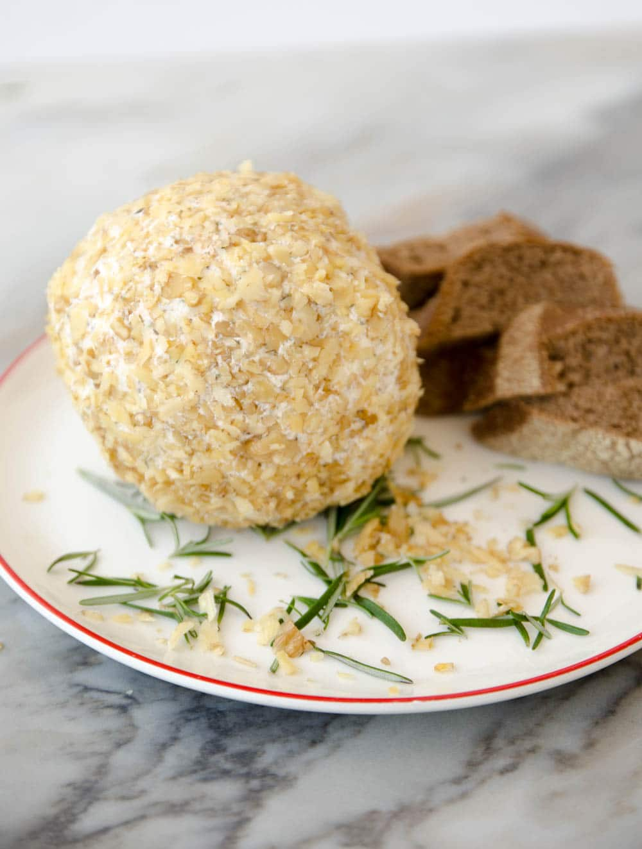 receita de esfera de queijo entrada de natal