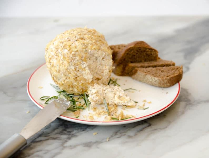 receita de esfera de queijo com nozes - receitas natalinas