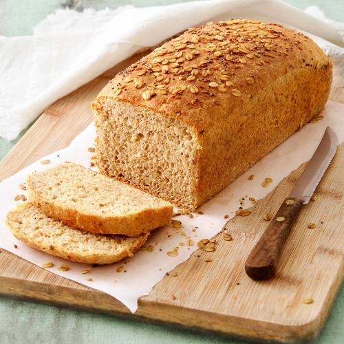 receita de pão de forma vegano