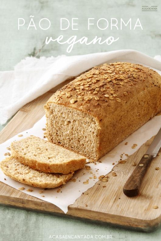 como fazer pão de forma vegano em casa