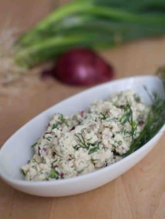 Salada de Ovo Vegana