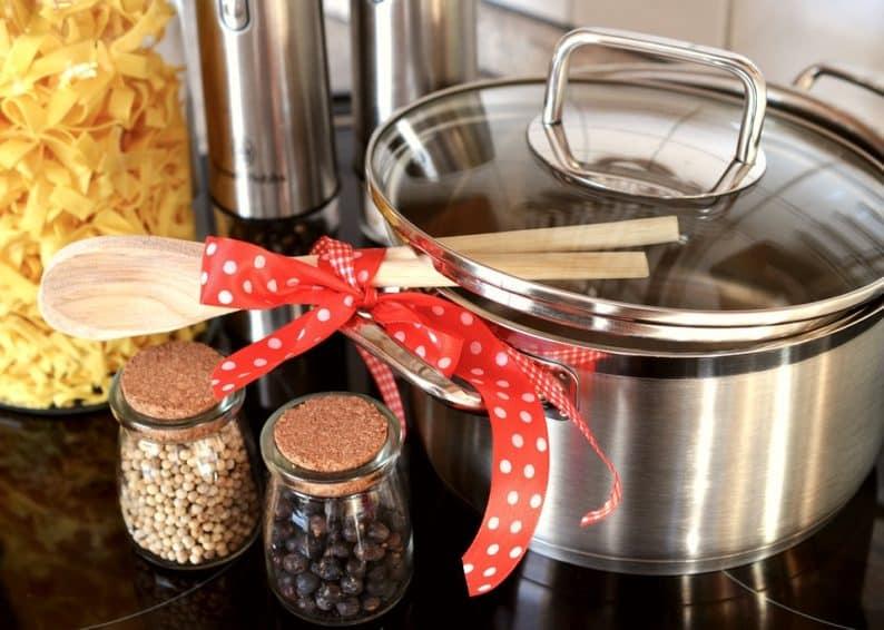 organize tudo para aumentar suas habilidades na cozinha