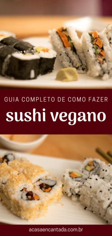 guia completo de como fazer sushi vegano