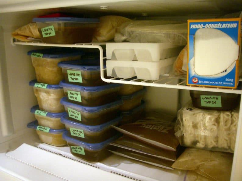 potes para congelar comida