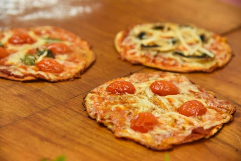 Pizza de Massa de Pastel