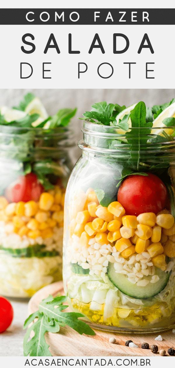 receitas salada de pote vegana