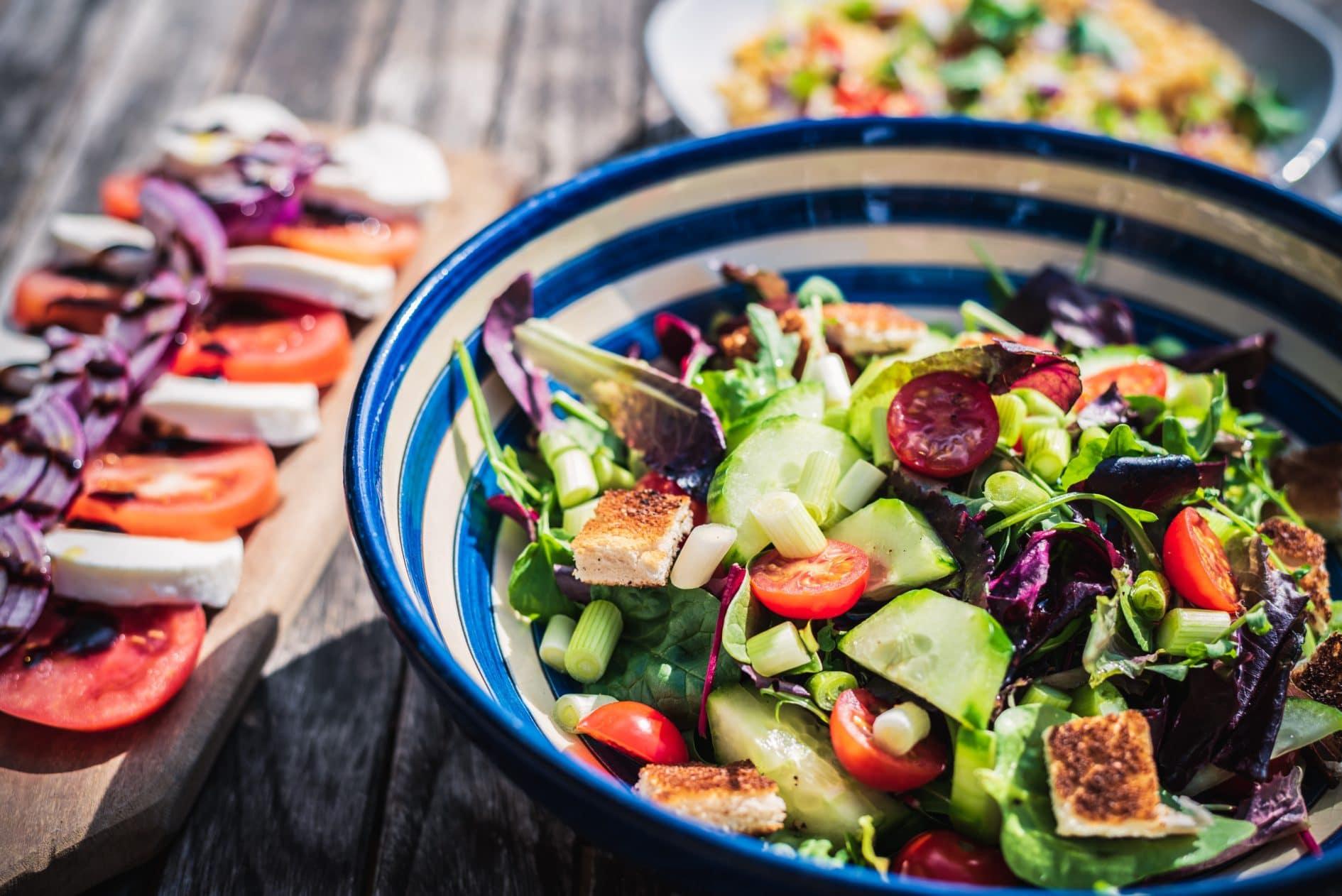 comer mais salada