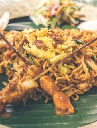 macarrão asiático