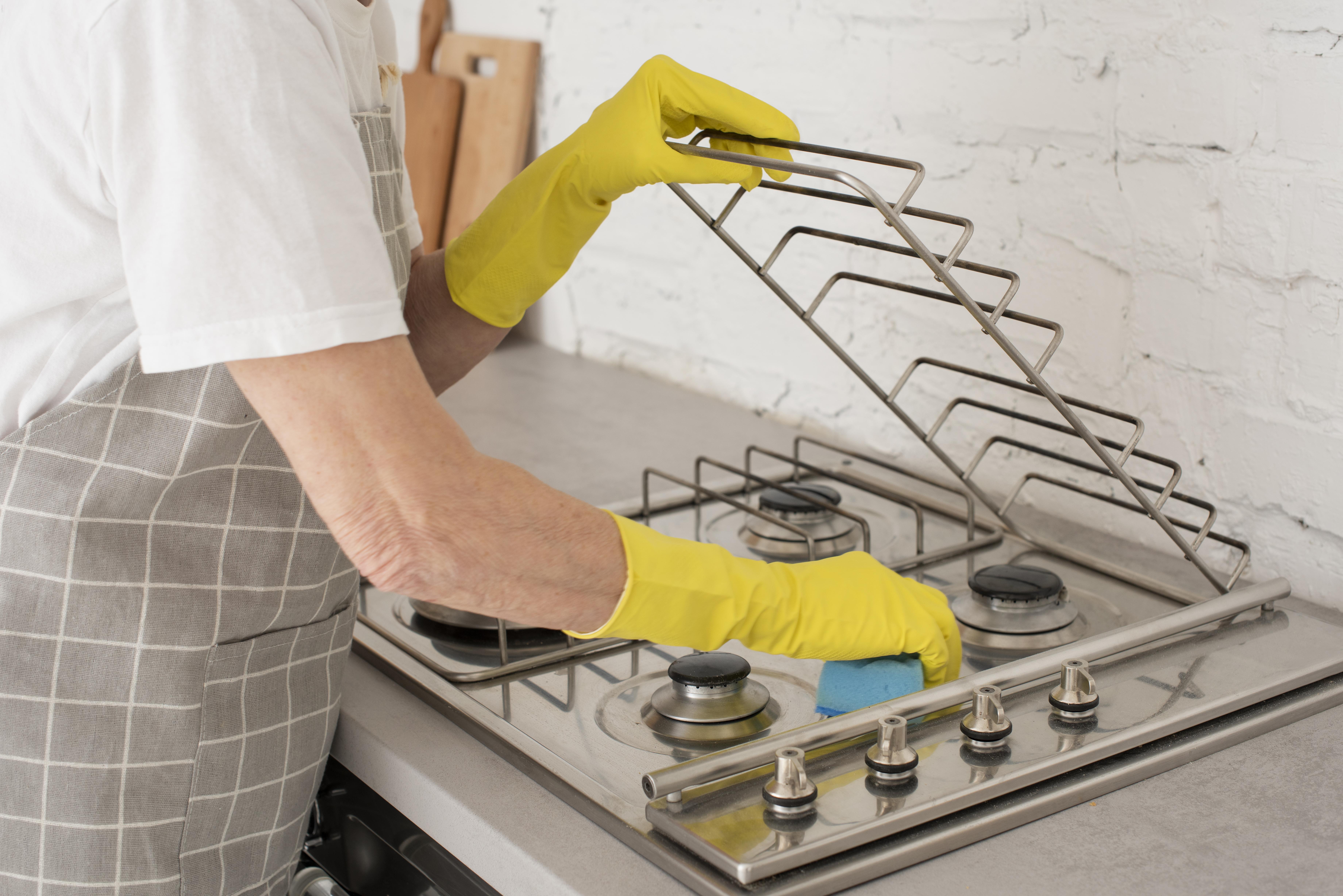 como limpar cooktop de vidro