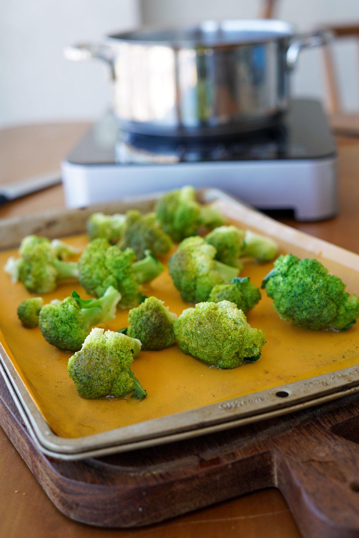 congelar brócolis
