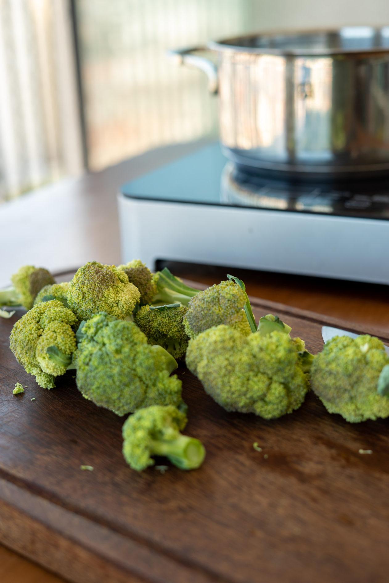 como congelar o brocolis em casa