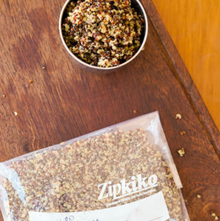 como congelar quinoa