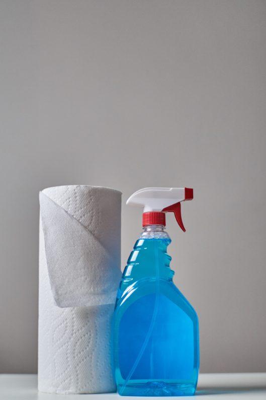 produtos para limpar