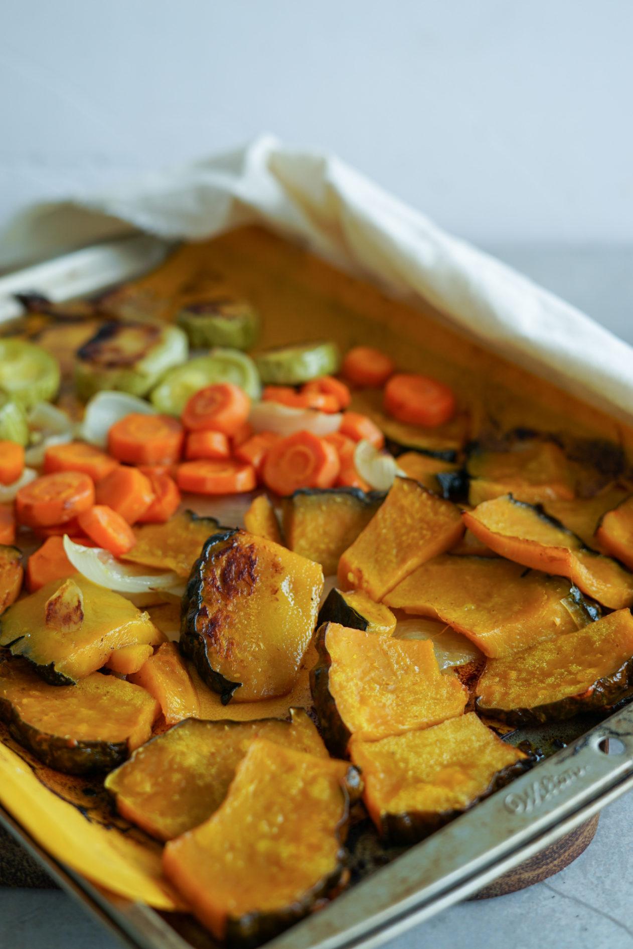 faça legumes assados perfeitamente