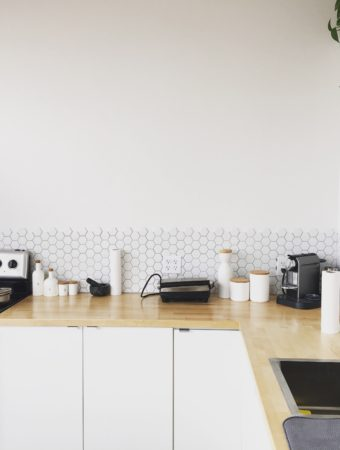organização e limpeza na cozinha