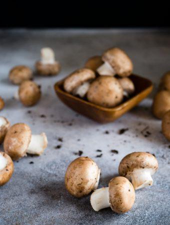 Como congelar cogumelos