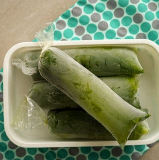 Como fazer geladinho de suco verde detox