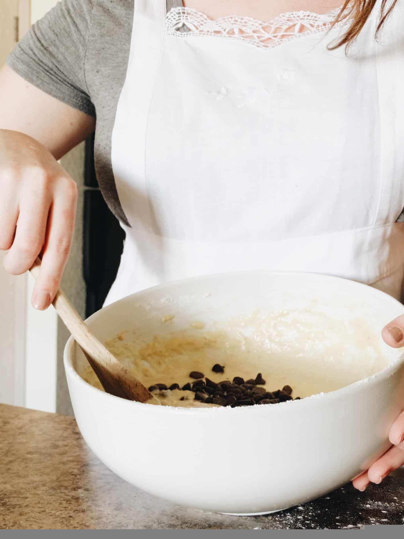 como congelar bolos (massa crua)