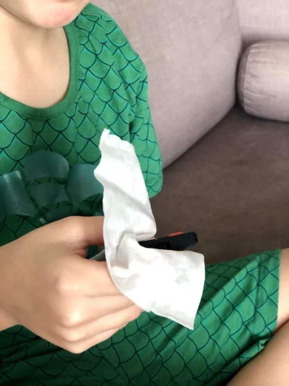lencinho para limpeza de superficies - proteção coronavirus