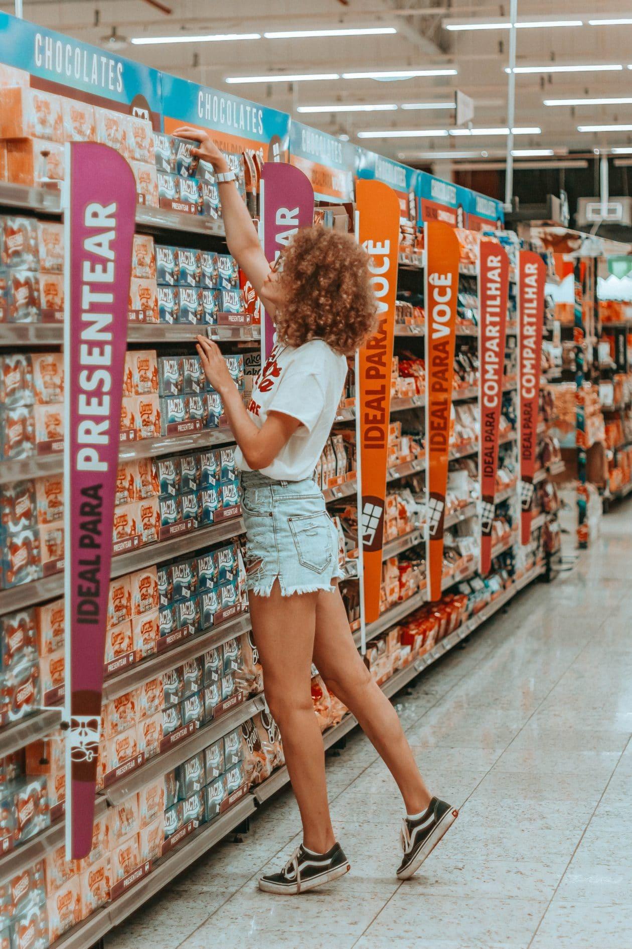 Supermercado na quarentena