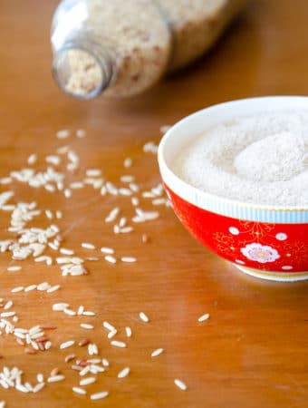 Como fazer farinha de arroz caseira