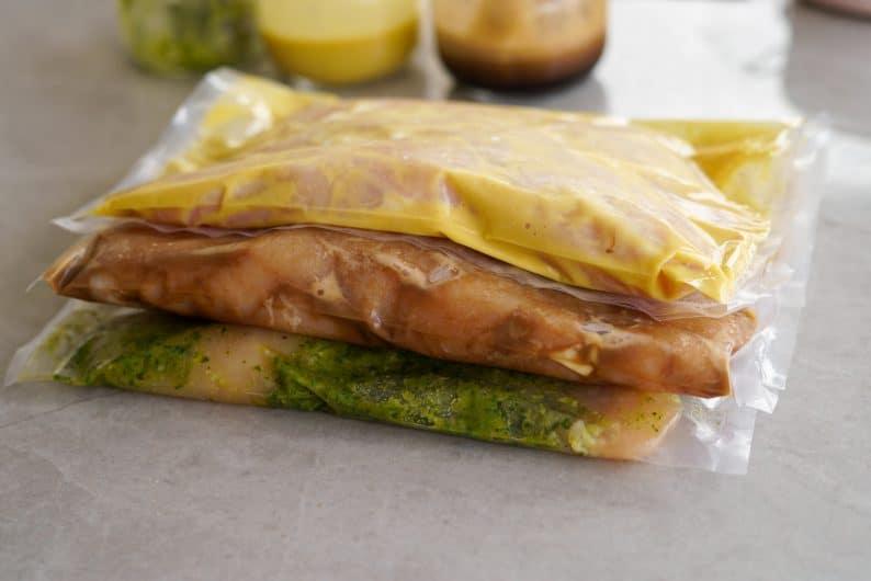 como fazer marinada para frango