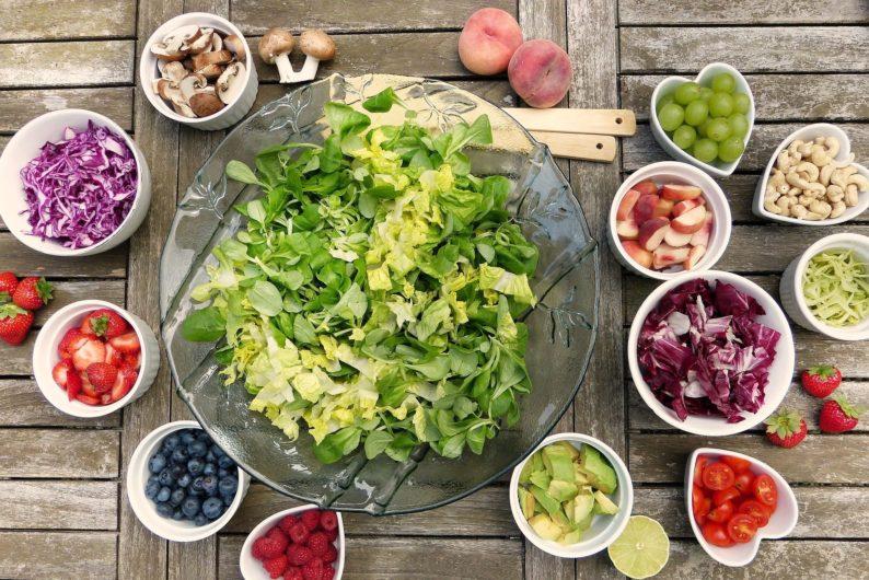 frutas livre de gluten