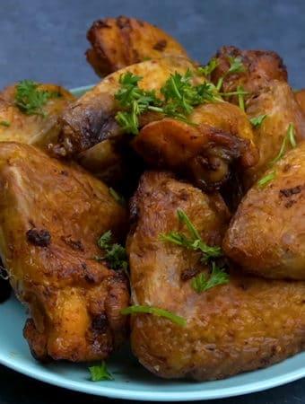 como fazer asinha de frango na airfryer
