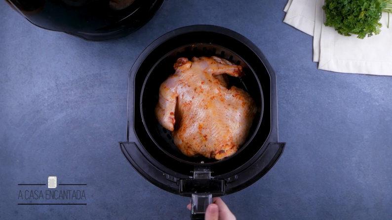 frango dourado na air fryer