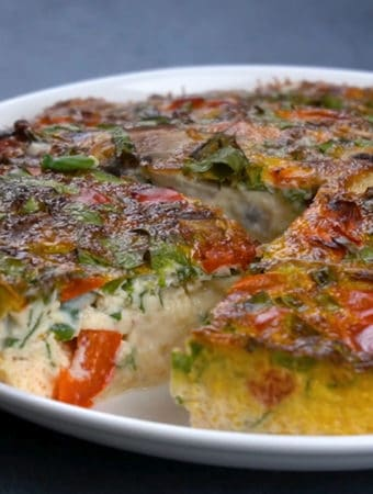 como fazer omelete na air fryer