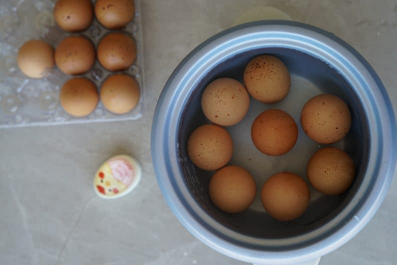 ovo caipira ou ovos organicos