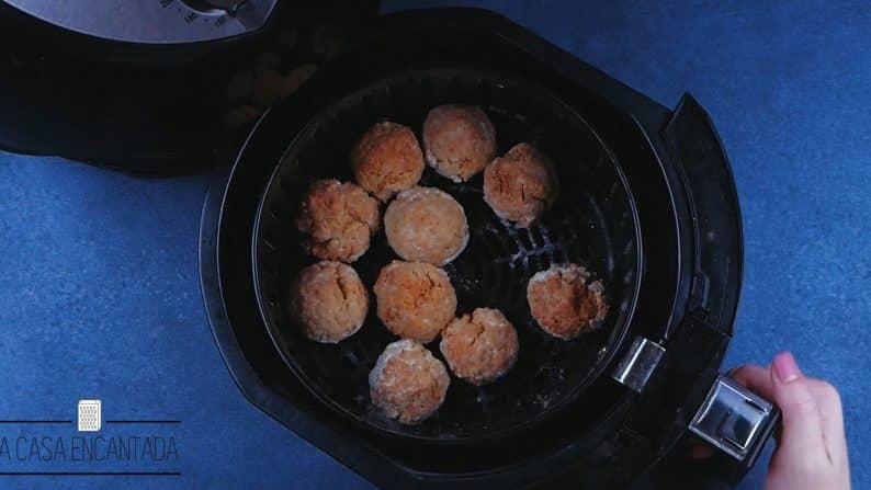 como fazer falafel na airfryer
