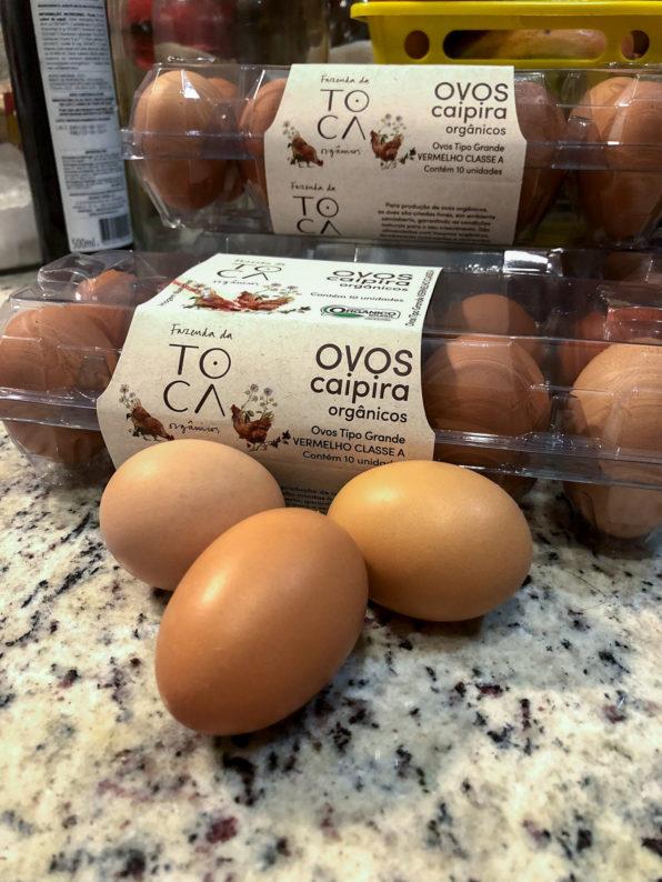 ovos organicos a diferença de ovos caipira
