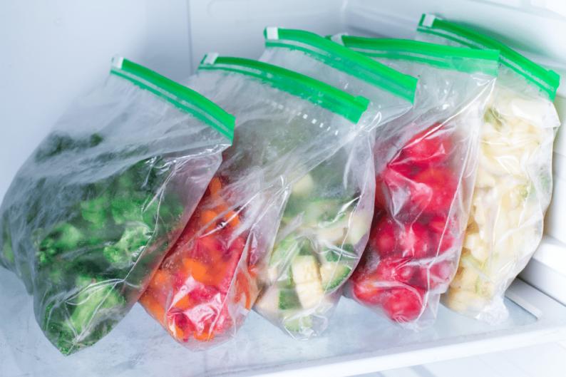 Como congelar vegetais e manter os nutrientes?
