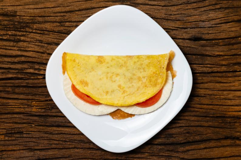 Pão de frigideira fit para não fugir da dieta