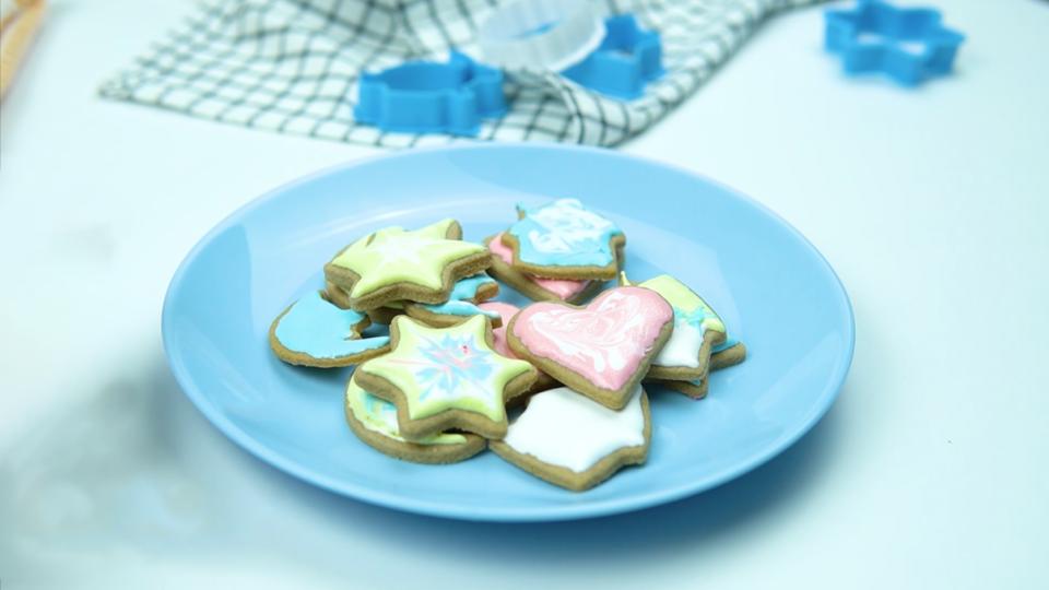 decorar biscoitos de natal