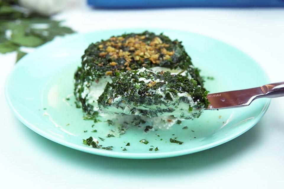patê de queijo com salsinha