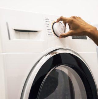 limpar a máquina de lavar