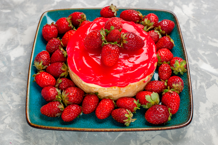 Sobremesa de morango sem açúcar: vá sem medo!
