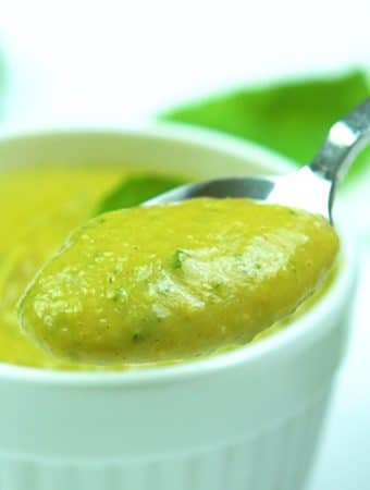 molho de abacate