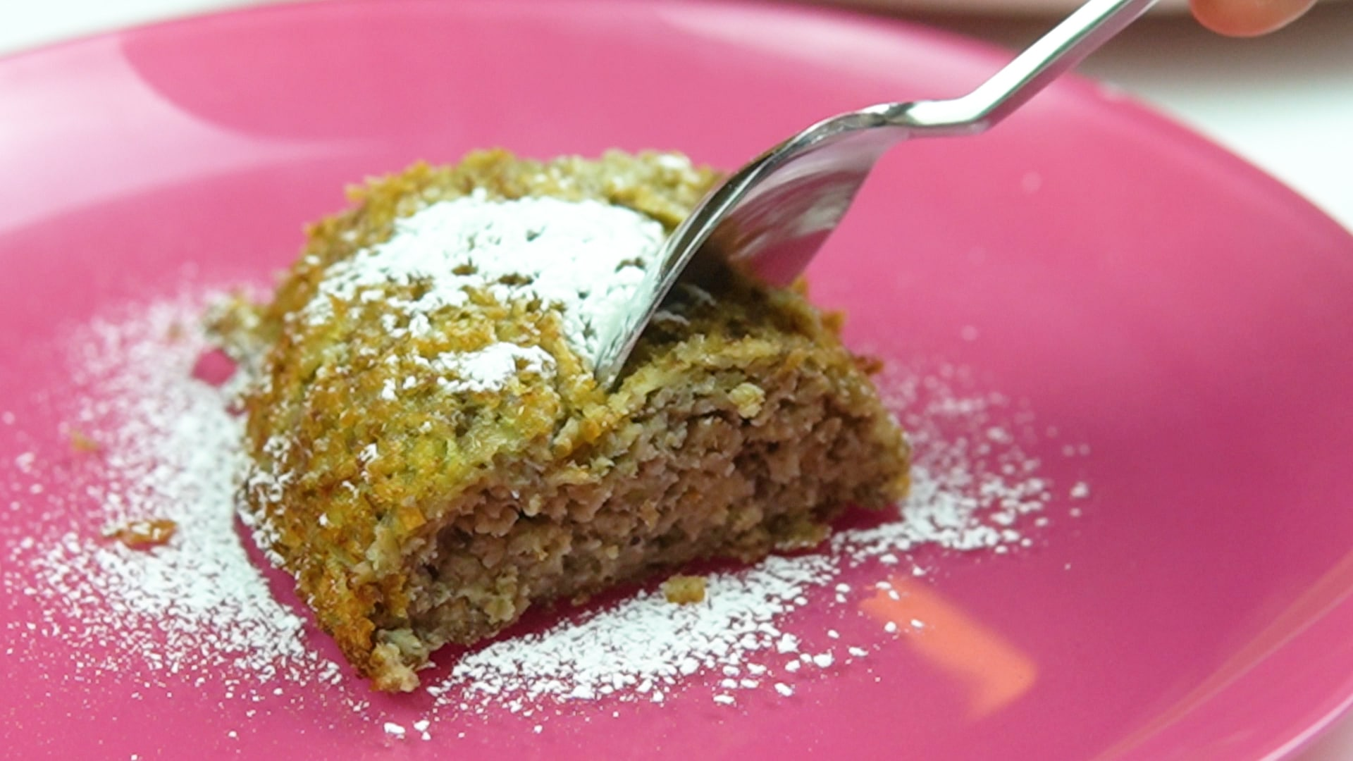 foto de bolo de banana zero açúcar