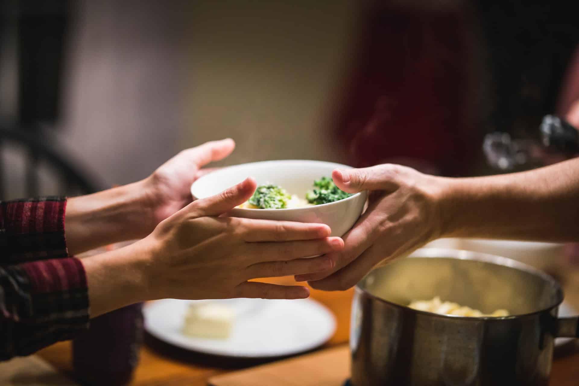 jantar vegano para amigos