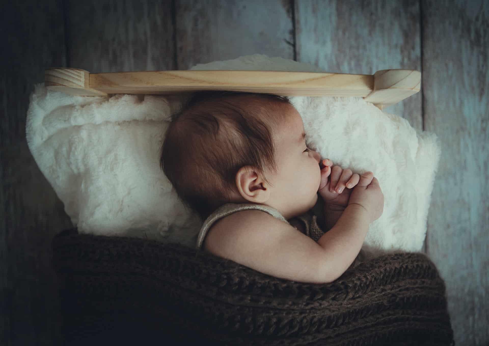 bebê não dorme mais